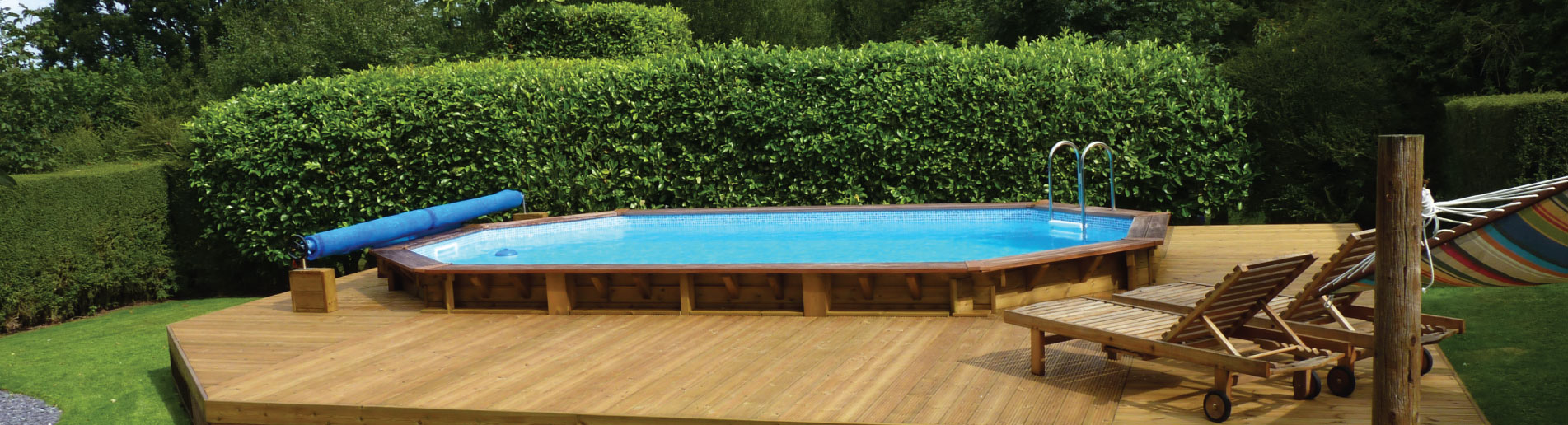 Happy Times with a Plastica Wooden Pool